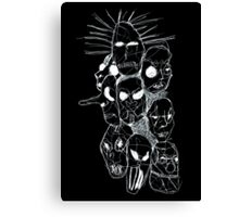 Slipknot Continuous Line Canvas Print