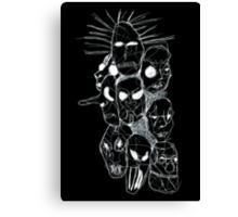 Slipknot Continuous Line Canvas Print