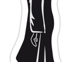Death hooded halloween grusel Sticker