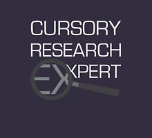 Cursory Research Expert Hoodie
