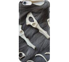 Bones and fur iPhone Case/Skin