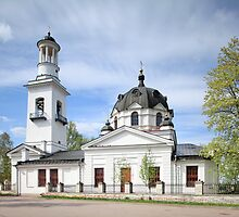 Church of Sts. Alexander Nevsky  by mrivserg