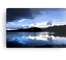 Cloud-break at Lake Tutira Metal Print