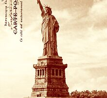 Classic America - The Statue Of Liberty by Mark Tisdale