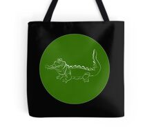 Never smile at a crocodile Tote Bag
