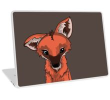 Cute Maned Wolf Design Laptop Skin