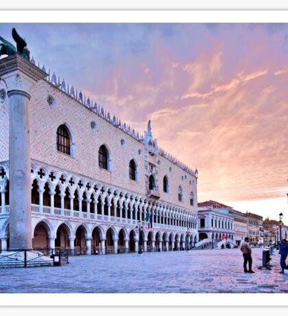Sunrise in Venice III Sticker