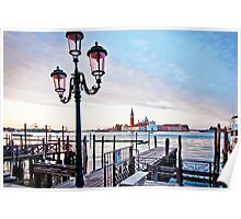 Sunrise in Venice II Poster