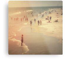 Summer Beach Day Metal Print