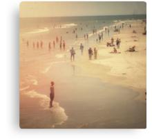 Summer Beach Day Canvas Print