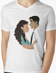 How Do You Say Hold Me? Mens V-Neck T-Shirt