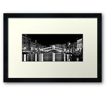 Venice by Night II Framed Print