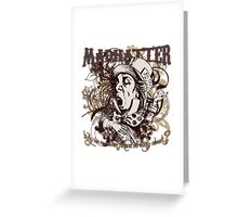 Mad Hatter Carnivale Style Greeting Card