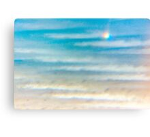 Unusual seascape Canvas Print