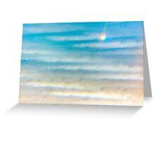 Unusual seascape Greeting Card