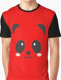 Face Panda Graphic T-Shirt