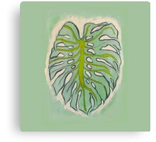 elephant leaf Canvas Print