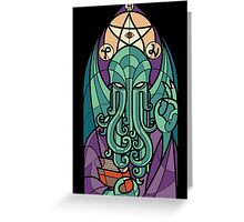 Cthulhu The Father Greeting Card
