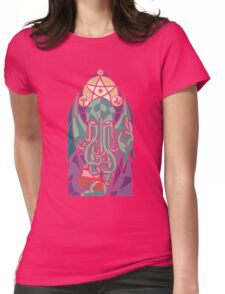 Cthulhu The Father Womens Fitted T-Shirt