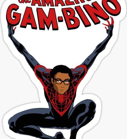 The Amazing Childish Gambino  Sticker