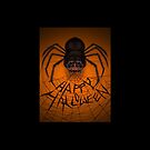 Happy Spidery Halloween by Tracey Quick
