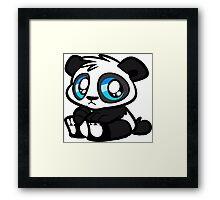 Baby Panda Framed Print