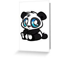 Baby Panda Greeting Card
