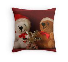Christmas Bears Pillow and Bag Throw Pillow