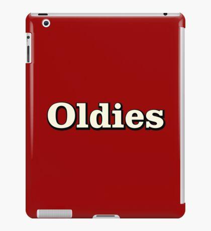Oldies Music iPad Case/Skin