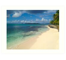 Palm Island, SVG Art Print