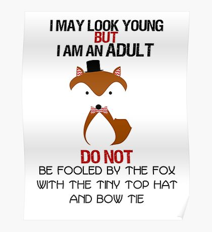 I AM AN ADULT !? Poster