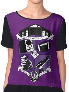 Endless Wonder - Purple Chiffon Top