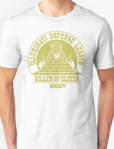 Illuminati Defense League - Killer Of Elites Unisex T-Shirt