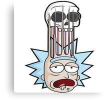 Rick And Morty illustrasion Canvas Print