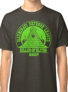 Illuminati Defense League - Killer Of Elites Classic T-Shirt