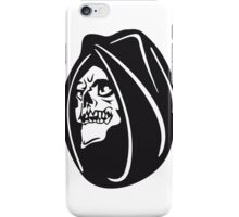 Death hooded halloween iPhone Case/Skin