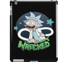 Rick And Morty Wrecked iPad Case/Skin