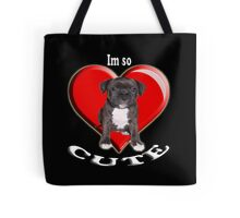 Stafordshire Bull Terrier Tote Bag