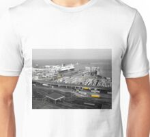 Yellow Containers, Dover Unisex T-Shirt
