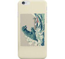 Godzilla Off Kanagawa iPhone Case/Skin