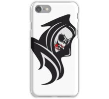 Death hooded cool sunglasses iPhone Case/Skin