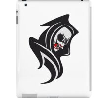 Death hooded cool sunglasses iPad Case/Skin