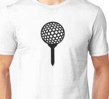 Golf Ball tee Unisex T-Shirt