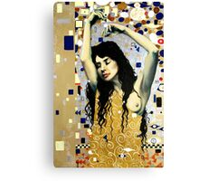 Klimt Inspired 2 Canvas Print