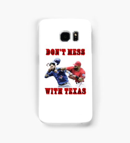 dont mess with texas Samsung Galaxy Case/Skin