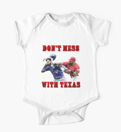 dont mess with texas One Piece - Short Sleeve
