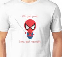 FunnyBONE Chibi Spidey Unisex T-Shirt