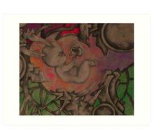 Portal's Womb Art Print