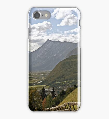 Inn Valley in Tyrol, Austria iPhone Case/Skin