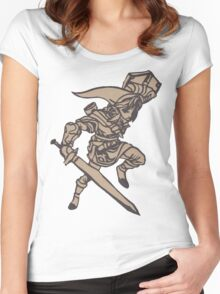 Link Papercraft Women's Fitted Scoop T-Shirt